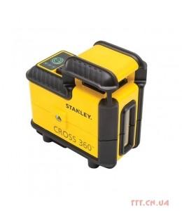 Построитель плоскостей лазерный Cross360 зеленый луч STANLEY STHT77594-1
