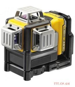 Лазер самовыравнивающийся 3-х плоскостной DeWALT DCE089D1R