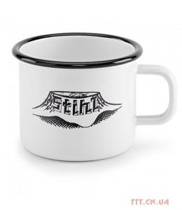 Чашка ретро Stihl металическая, эмаль