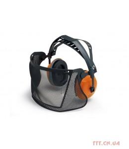 Захист лиця (нейлонова сітка) з навушниками
