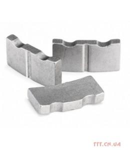 Сегмент коронки ф52мм D1245 мягкий бетон