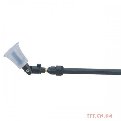 Телескопічна трубка 25-50 см, з функцією поворотною голови на 180 °, і захисним екраном