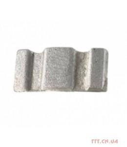 Сегмент коронки 077-087 мм D1235 средний бетон