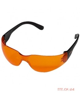 Очки защитные LIGHT, оранжевые