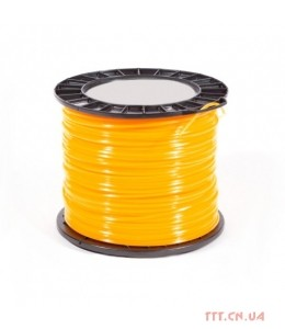 Корд триммерный Husqvarna 2.4 мм / 210 м Quadra Spool Orange