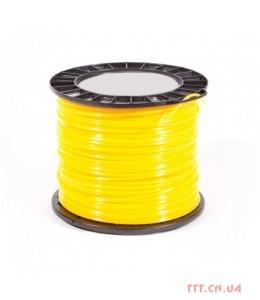 Корд триммерний Husqvarna 2.7 мм / 170 м Quadra Spool Yellow