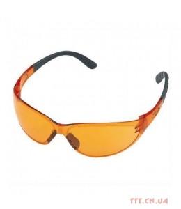 Очки защитные Contrast, оранжевые